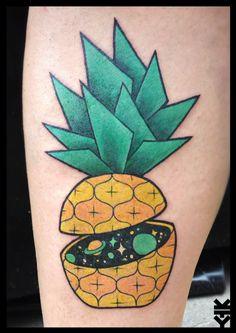 Space pineapple by Kreatyves