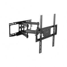 Lieblich Full Motion TV Mount For 32 In.   55 In. TVs, Black #