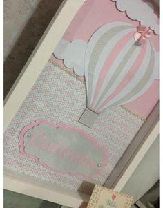 Resultado de imagem para quadro balão rosa e cinza