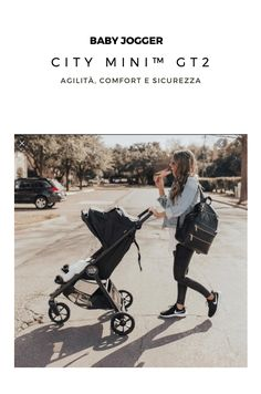 Il passeggino City Mini™ GT2, con il nuovo design a 3 ruote firmato Baby Jogger, è la scelta ideale per le famiglie che amano la vita all'aria aperta. Le ruote forever-air del City Mini GT2 lo rendono adatto a qualsiasi tipo di terreno e garantiscono estrema maneggevolezza anche sui sentieri non battuti. Il confort del bambino è garantito dall'ampia seduta reclinabile, multi-posizione, utilizzabile sin dalla nascita, e dalla pedanina poggiapiedi rialzabile.