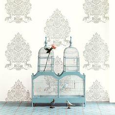 Pip Studio - Pip for President Wallpaper - 341050 White