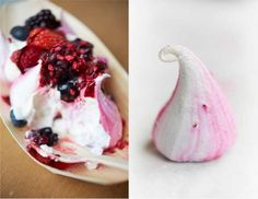 Meringues sweetness kissed by red fruits - The Meringue Girls Meringue Girls, Red Fruit, Pavlova, Sugar And Spice, These Girls, Taste Buds, Afternoon Tea, Food Inspiration, Wedding Designs