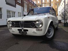 My classic Alfa Romeo Giulia Super. London 2014.