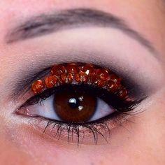 Rhinestones - Eye make-up