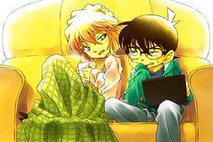 Detective Conan Edogawa Conan & Haibara Ai