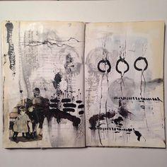 Tina Jensen - Art journal