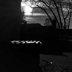 Wednesday AM #ultralightapp #blackandwhitephotography #dumpster #sun #capturemn #stillwatermn