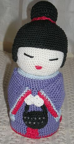 * Click on Patron to get pattern - KOKESHI