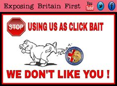 Nobody likes you Britain First