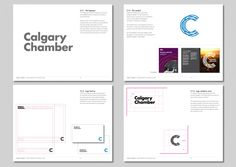Calgary Chamber - Wordmark and symbol relationship