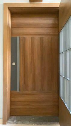 Interior Design Videos, Door Design Interior, Apartment Interior Design, Interior Decorating, Room Door Design, Home Room Design, Modern Exterior House Designs, Modern House Design, Bedroom Furniture Design