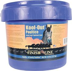 129105 KoolOUT Poultice for Equine  5 lb Tub *** Click on the image for additional details. (This is an affiliate link and I receive a commission for the sales) #CatNursing Supplies