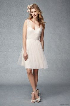 Sukienki dla druhny Monique Lhuillier 2015, fot. mat. prasowe