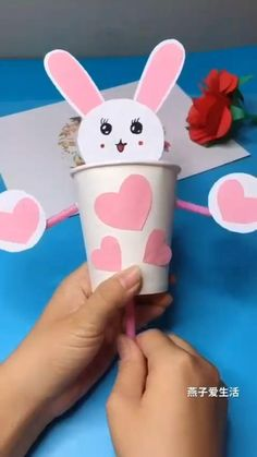 Paper Crafts Origami, Paper Crafts For Kids, Craft Activities For Kids, Preschool Crafts, Toddler Activities, Diy Crafts For Kids Easy, Diy Crafts For Gifts, Creative Crafts, Fun Crafts