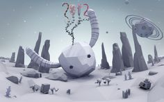 New Years Greetings 2012 by Erwin Kho