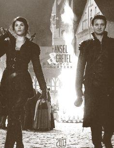 Hansel and Gretel Witch Hunters, January 25, 2013 (Jeremy Renner, Gemma Arterton)