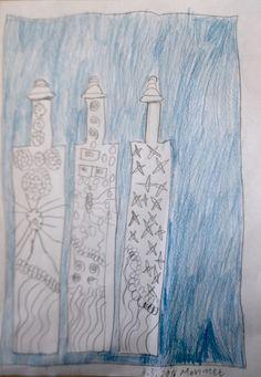 Drei Flaschen gefüllt mit Phantasie von Mehmet