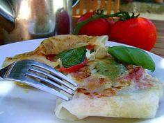 Tomate Mozzarella en Feuille de Brick