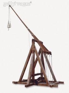 Trebuchet siege weapon :D