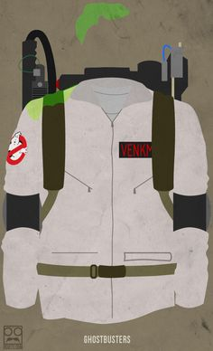 Minimalist Bill Murray Movie Posters - Ghost Busters