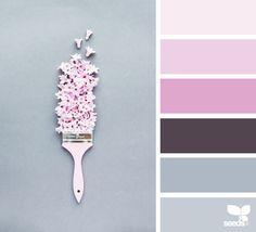 Color Spring via @designseeds   ❤ =^..^= ❤