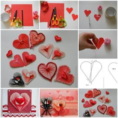 """<input class=""""jpibfi"""" type=""""hidden"""" >Here is a fun DIY project to make some unique yarn heart decorations. This is really creative because it doesn't require needles! You can use your favorite colors and ornaments to create your own style. This unique yarn heart can…"""