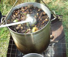 6 Heksjes bij elkaar die maakten een heel vreemd soepje klaar. Spinnekop met spruites, knekel met candij, die soep is nog niet goed.