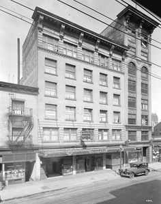 Hotel Niagara [at 435 West Pender Street], stuart thomson 1932   by vancouverbyte