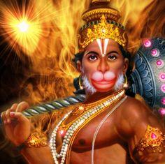 Hanuman Mantra in English | Sri Hanuman Gayatri Mantra | Hindu Vedanta