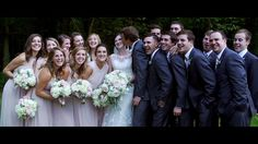 Maddie & Ryan's woodland wedding at RT Lodge in Maryville, TN. Click to vwatch this Knoxville wedding video! @alexandrahansen
