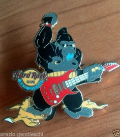 San-Diego-King-Kong-guitar-Hard-Rock-Cafe-Lapel-PIN-Spilla-HRC