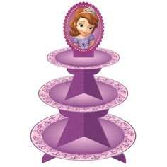 Wilton Treat Stand-Sofia The First                                                                                                                                                                                 Más