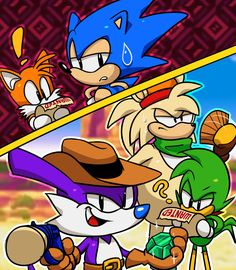 Sonic Mania: Mirage Saloon