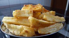 Mandioca frita sequinha  Por: Sussa Rodrigues