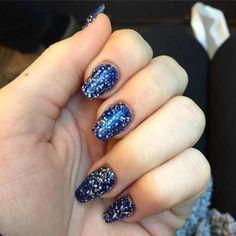 most popular acrylic nail design 2016