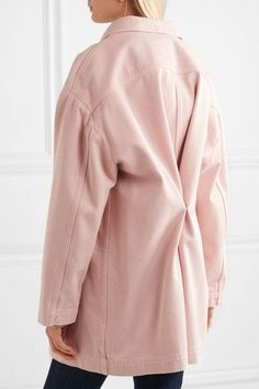 MM6 Maison Margiela - Denim Jacket - Pastel pink - IT46