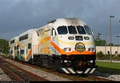 RailPictures.Net Photo: CFRC 105 Sunrail MPI MP32PH-Q at Winter Park, Florida by Bob Pickering (BP)