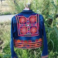 Resultado de imagen para odelos de chaquetas bordadas