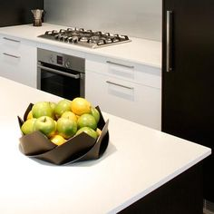 Quartz worktops in CaesarStone 2141 Snow