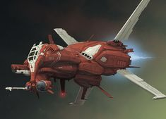 HF 16 Scarab Heavy Fighter
