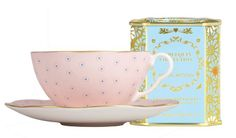Wedgwood Polka Dot Tea Story cup