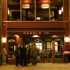 Candle 79, New York City- honestly wasnt that impressed by the food, pricey and not outstanding but I recommend the cannolis..  it was decent though.  6.5/10
