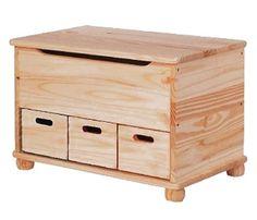 Ba�l de madera 3 CAJONES - Leroy Merlin