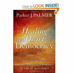 """I'll be talking a bit about this book and the amazing work of Parker Palmer in this Friday's """"10 Minutes to Transformation"""""""