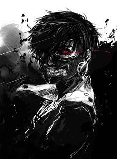 Tokyo Ghoul,Kaneki.
