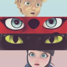Ladybug chat noir miraculos by • Black Lynxt • | We Heart It
