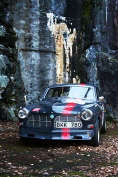 My boyfriend Mats car Volvo Amazon. Photograph by me.