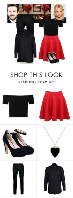 """""""Avengers / Captain America cast preferences : first date outfit"""" by hitthisfeeling ❤ liked on Polyvore featuring Alice + Olivia, Pilot, Jennifer Meyer Jewelry, Topman, Y-3 and Lacoste"""
