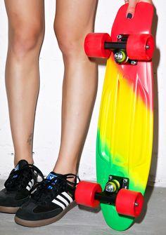 Penny Skateboards Jammin' Penny Painted Fade Skateboard