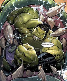 """""""GGGGGRRRRAAA!"""" (The Totally Awesome Hulk #3) - Frank Cho"""